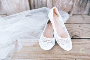 Bride Shoes & Veil